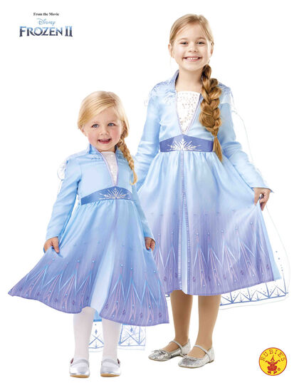 Disfraz Rubie's Frozen Elsa Travel De 3 a 4 años