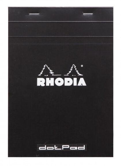 BLOC RHODIA DOTS A5 80H  NEGRO
