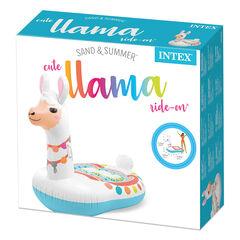 Flotador inflable Intex Llama 135X94X112Cm