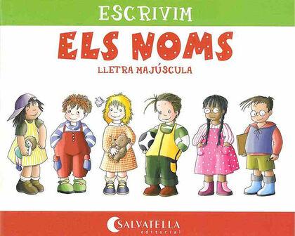 ESCRIVIM ELS NOMS MAJÚSCULA Salvatella 9788484120537