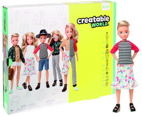 Creatable World Blonde hair