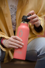 Botella Termo Runbott Sport Coral 600 ml