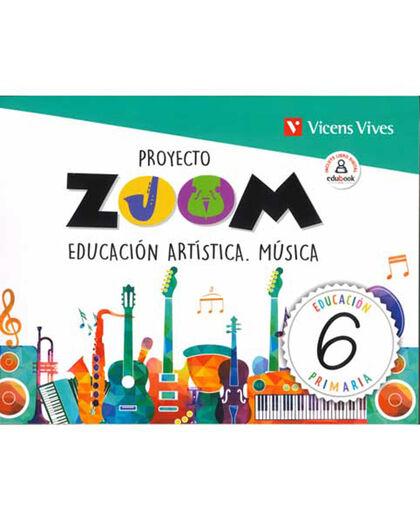Musica/Zoom PRIMÀRIA 6 Vicens Vives 9788468262581