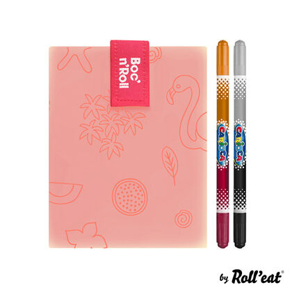 Boc' n Roll Paint Flamingo 11x15 cm