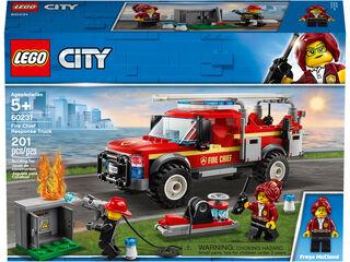 LEGO City Camión jefe de bomberos (60231)