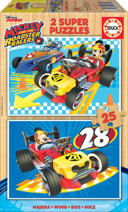 Puzzle Educa Mickey roadster