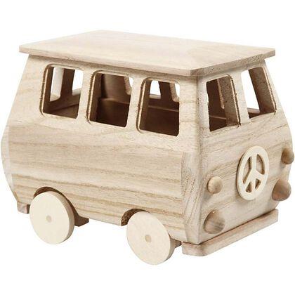 Maqueta Creative 3D mini bus