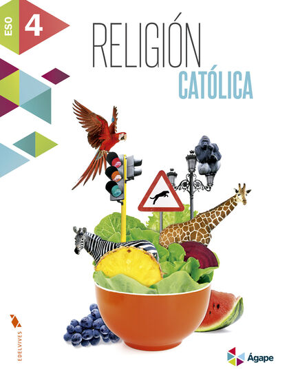 Religión/Ágape ESO 4 Edelvives 9788414004531