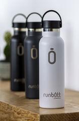 Botella Termo Runbott Sport Negro 600 ml