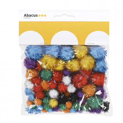 Pompones brillantes Abacus