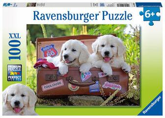 Descanso Perros Ravensburger (100 piezas)