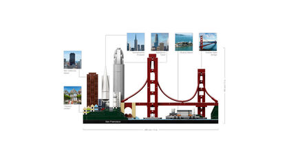 LEGO Architecture San Francisco (21043)