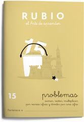 PROBLEMAS 15 SUMAR RESTAR MULT PRIMARIA Rubio 9788485109708