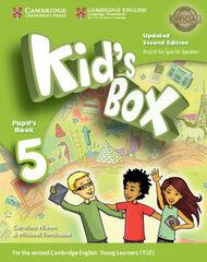 CUP E5 Kid's Box ESP 2E/SB Cambridge 9788490366554