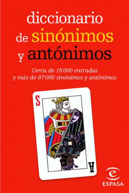 Diccionario mini de sinónimos y antónimo