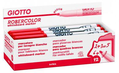 Rotulador para pizarra blanca Giotto Robercolor M Rojo