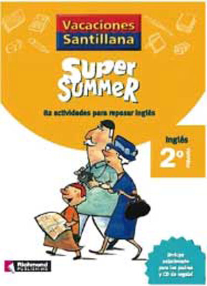 VACANCES NEW SUMMER 2ONº PRIMARIA Richmond 9788466823043