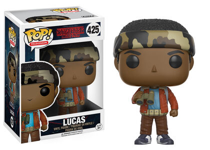 Funko Stranger Things Lucas Prismticos
