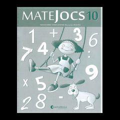 MATEJOCS 10 4t PRIMÀRIA Salvatella 9788484127949