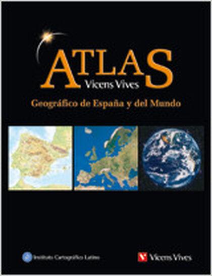 Atlas geográfico de España y del mundo Vicens Vives 9788431683184