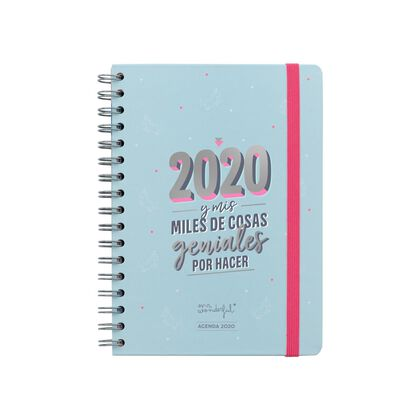 Agenda Mr.Wonderful Clasic espiral S / V 2020 2020 y ...