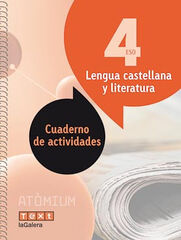 Castellano-cuaderno/Atòmium ESO 4 Text 9788441224445
