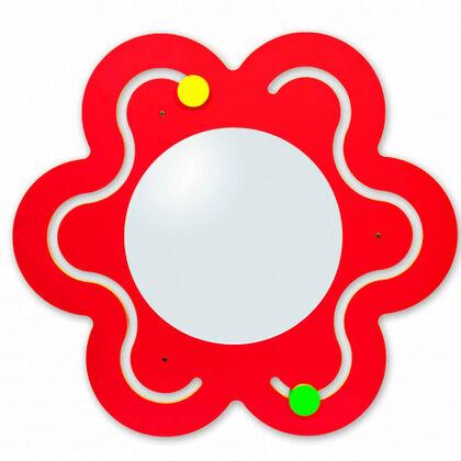 Juego motriz Nowa Szkola Panel laberinto flor con espejo