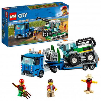 LEGO City Transporte recolectora (60223 mil)