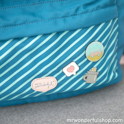 Mochila Saco Mr.Wonderful Go for ir
