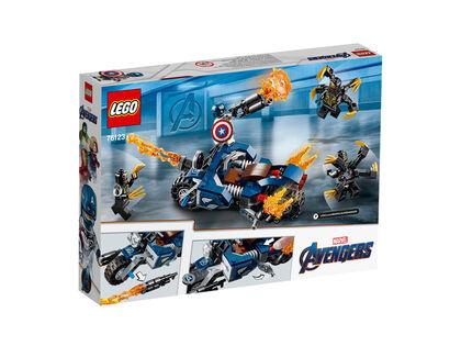 LEGO Avengers Capitán América: Ataque de los Outriders (76123)