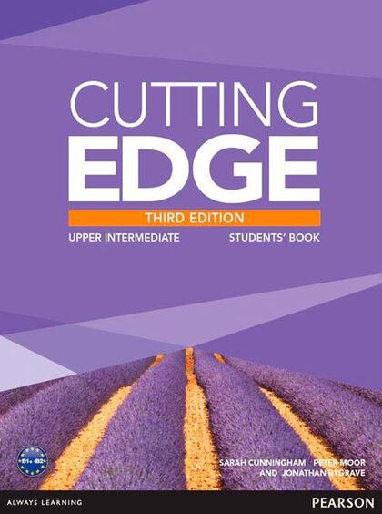 CUTTING EDGE UPPER INTERMEDIATE THIRD EDITION STUDENT'S BOOK+DVD Pearson 9781447936985