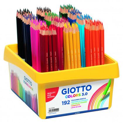 Lápiz de colores Giotto Schoolpack Colores 3.0 - 192 unidades