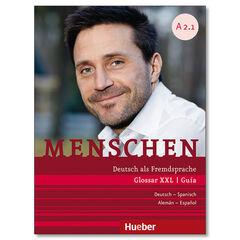 MENSCHEN A2.1 GLOSSAR XXL Hueber Text 9783191919023