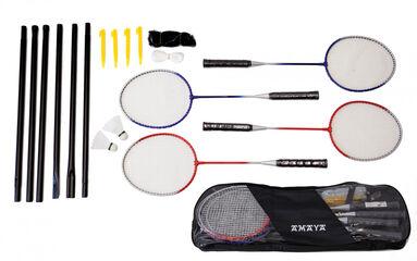 Set Badminton Amaya 4 raquetas