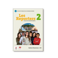 LES REPORTERS 2 A1.2 CAHIER D'EXERC +CD Difusion Text 9788417260156