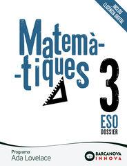 Matemàtiques/Ada Lovelace ESO 3 Barcanova Text 9788448950811