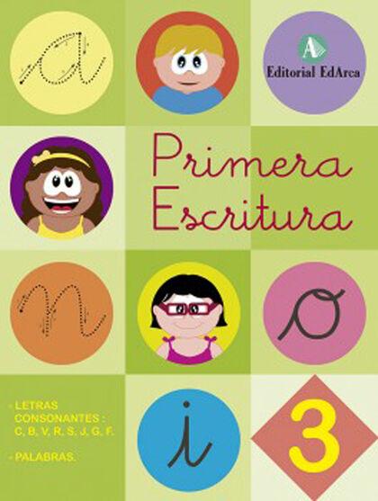 PRIMERA ESCRITURA 3 Arcada 9788478876624