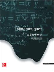 MATEMÀTIQUES 1r BATXILLERAT McGraw-Hill Text 9788448196042