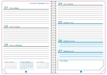 Agenda EscolarAbacus2020 - 2021 Catalán