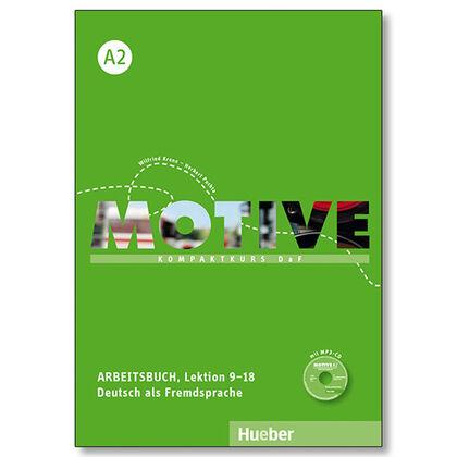 MOTIVE A2 ARBEITSBUCH+CD Hueber Internacional 9783190318810