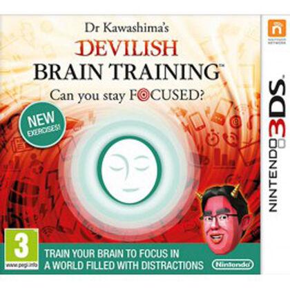 3Ds Dr.Kawashima'S Devilish Brain Traini