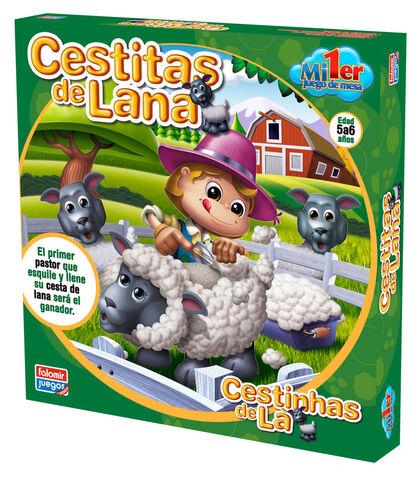 Juego Falomir cestitas de lana