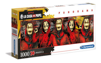 Puzzle Panorama La Casa de Papel (1000 piezas)