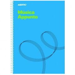 Cuaderno de musica Additio Música en punto