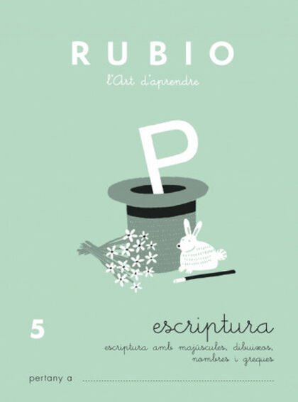 ESCRIPTURA 05 PRIMÀRIA Rubio 9788489773554