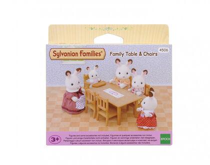 Ambientes Sylvanian Families Siete mesa comedor