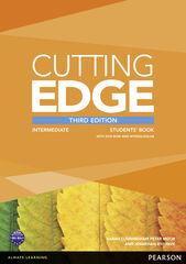 CUTTING EDGE INTERMEDIATE THIRD EDITION STUDENT'S BOOK+DVD+MEL Pearson 9781447944041