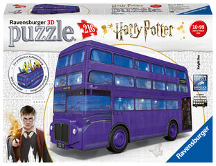 Puzzle 3D Ravensburger Autobus Harry Potter 3D 216 piezas