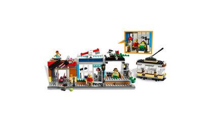 LEGO Creator Tienda mascotas y cafetería (31097)