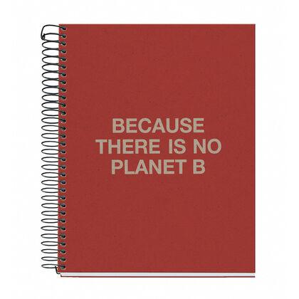 Libreta Miquelrius 4Color A5 120 hojas Ecoalf Reciclada Rojo